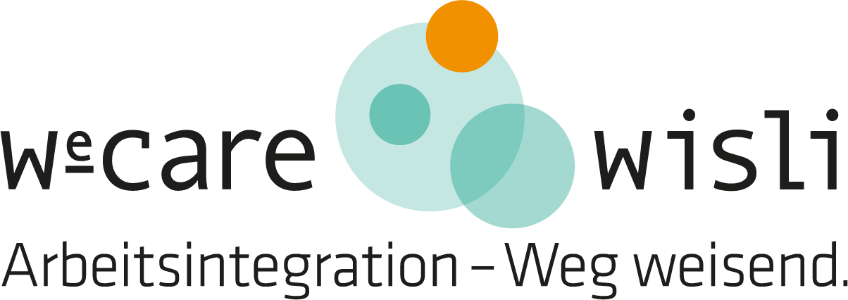 Logo We-Care Arbeitsintegration